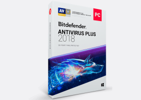 Bitdefender Antivirus Plus 2018 1 year 10 PCs WB11011010